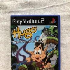 Videojuegos y Consolas: HUGO: MAGIA EN LA TROLLWOODS SONY PLAYSTATION PS2 PS3 PAL JUEGO EN ESPAÑOL. Lote 222352138