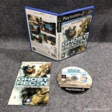 Videojuegos y Consolas: TOM CLANCYS GHOST RECON ADVANCED WARFIGHTER SONY PLAYSTATION 2 PS2. Lote 222432643