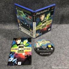Videojuegos y Consolas: BEN 10 ALIEN FORCE VILGAX ATTACKS SONY PLAYSTATION 2 PS2. Lote 222432653