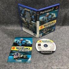Videojuegos y Consolas: CRESCENT SUZUKI RACING SONY PLAYSTATION 2 PS2. Lote 222432667