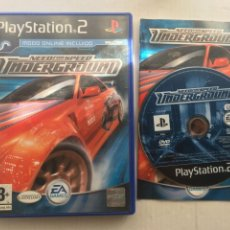 Videojuegos y Consolas: NEED FOR SPEED UNDERGROUND NFS PS2 PLAYSTATION 2 PLAY STATION TWO KREATEN. Lote 222582923