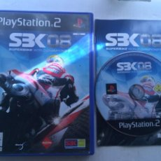 Videojuegos y Consolas: SBK 08 SUPERBIKE WORLD CHAMPIONSHIP PS2 PLAYSTATION 2 PLAY STATION TWO KREATEN. Lote 222583472