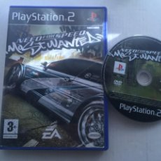 Videojuegos y Consolas: NEED FOR SPEED MOST WANTED NFS PS2 PLAYSTATION 2 PLAY STATION TWO KREATEN. Lote 222583697