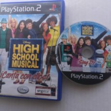 Videojuegos y Consolas: HIGH SCHOOL MUSICAL CANTA CON ELLOS SINGSTAR SING STAR PS2 PLAYSTATION 2 PLAY STATION TWO KREATEN. Lote 222595778
