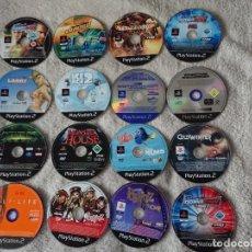 Videojuegos y Consolas: LOTE DE 24 JUEGOS PS2 PAL, SOLO DISCO, SIN CAJA. Lote 222657178