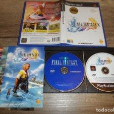 Videojuegos y Consolas: PS2 FINAL FANTASY X PAL ESP COMPLETO. Lote 222686065