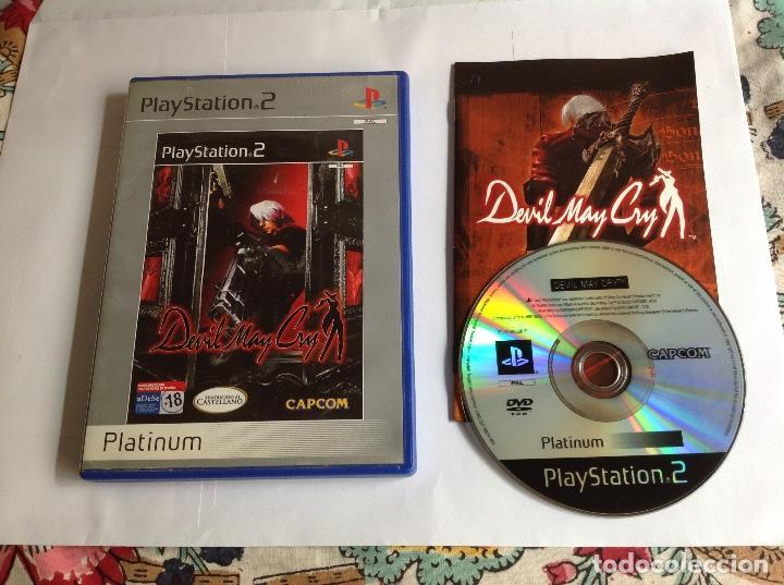 DEVIL MAY CRY PS2 COMPLETO (Juguetes - Videojuegos y Consolas - Sony - PS2)
