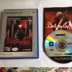Videojuegos y Consolas: DEVIL MAY CRY PS2 COMPLETO. Lote 222803570