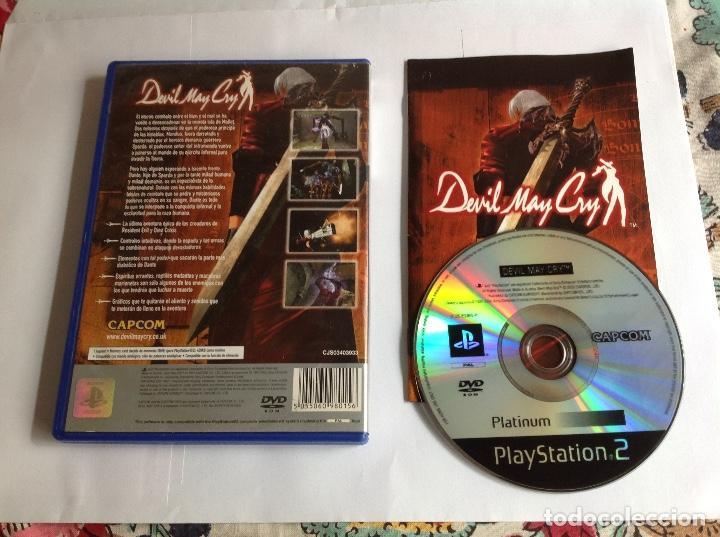 Videojuegos y Consolas: DEVIL MAY CRY PS2 completo - Foto 2 - 222803570
