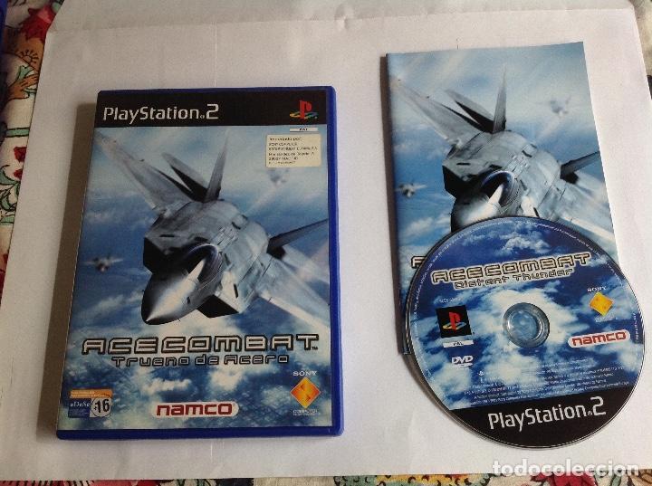 ACE COMBAT PS2 COMPLETO (Juguetes - Videojuegos y Consolas - Sony - PS2)