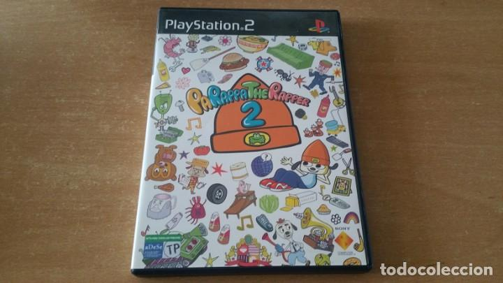 PARAPPA THE RAPPER 2 PS2 PAL ESPAÑA EDICION PROMOCIONAL PROMO MUY RARO (Juguetes - Videojuegos y Consolas - Sony - PS2)