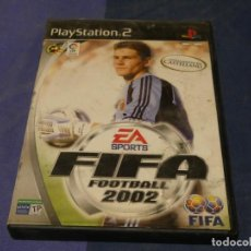 Videojuegos y Consolas: EXPRO JUEGO PLAYSTATION 2 COMPLETO FIFA 2002 CD BUEN ESTADO PEQ ROTO EN CAJA. Lote 222902831