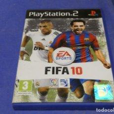Videojuegos y Consolas: EXPRO JUEGO PLAYSTATION 2 NO MANUAL FIFA 10. Lote 222902996