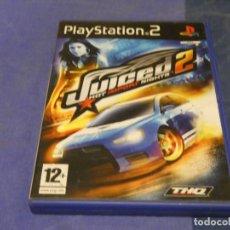 Videojuegos y Consolas: EXPRO JUEGO PLAYSTATION 2 NO MANUAL JUICED 2 CD BUEN ESTADO. Lote 222903912