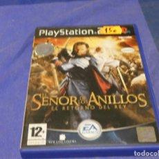 Videojuegos y Consolas: EXPRO JUEGO PLAYSTATION 2 COMPLETO EL SEÑOR DE LOS ANILLOS EL RETORNO DEL REY CD MUY BUEN ESTADO. Lote 222904273