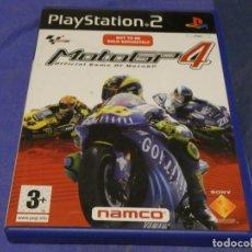 Videojuegos y Consolas: EXPRO JUEGO PLAYSTATION 2 COMPLETO MOTO GP 4 CD LEVES SEÑALES DE USO. Lote 222904310