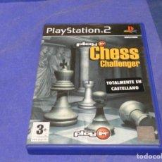 Videojuegos y Consolas: EXPRO JUEGO PLAYSTATION 2 NO MANUAL CHESS CHALLENGER CD CORRECTO. Lote 222904497