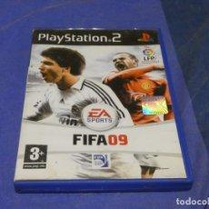 Videojuegos y Consolas: EXPRO JUEGO PLAYSTATION 2 NO MANUAL FIFA 09 CD CORRECTO. Lote 222904543
