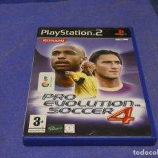 Videojuegos y Consolas: EXPRO JUEGO PLAYSTATION 2 COMPLETO PRO EVOLUTION SOCCER 4 CD CORRECTO. Lote 222904592