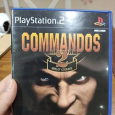 Videojuegos y Consolas: COMMANDOS 2 MEN OF COURAGE PAL PS2 + MANUAL. Lote 222929310