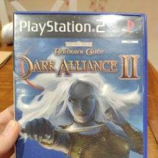 Videojuegos y Consolas: BALDUR'S GATE DARK ALLIANCE II PAL PS2 + MANUAL. Lote 222929627