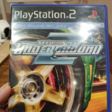 Videojuegos y Consolas: NEED FOR SPEED 2 UNDERGROUND PAL PS2 + MANUAL. Lote 222929865