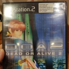 Videojuegos y Consolas: DOA2 DEAD OR ALIVE 2 PAL PS2 + MANUAL. Lote 222929942