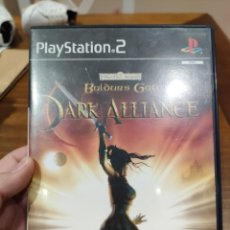 Videojuegos y Consolas: BALDUR'S GATE DARK ALLIANCE PAL PS2 + MANUAL. Lote 222930523