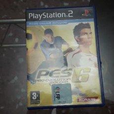 Videojuegos y Consolas: 08-00365 -JUEGO PS2 - PES6 ( PRO EVOLUTION SHOCCER). Lote 222946900