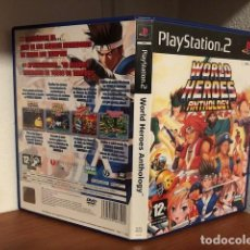 Videogiochi e Consoli: WORLD HEROES ANTHOLOGY SONY PLAYSTATION PS2/PS3 VERSION PAL ESPAÑA COMPLETO. Lote 223518022
