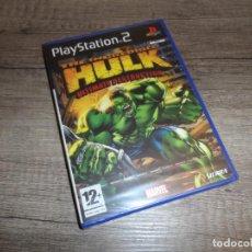Videojuegos y Consolas: PS2 THE INCREDIBLE HULK ULTIMATE DESTRUCTION PAL ESP PRECINTADO. Lote 224750183
