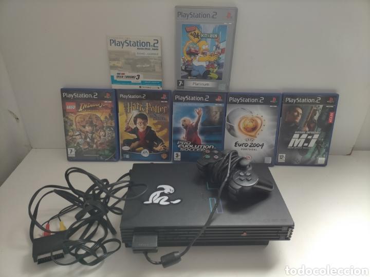 PS2 FUNCIONANDO PERFECTAMENTE CON 7 JUEGOS (Juguetes - Videojuegos y Consolas - Sony - PS2)