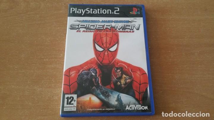 SPIDER MAN EL REINO DE LAS SOMBRAS PS2 PAL ESPAÑA COMPLETO (Juguetes - Videojuegos y Consolas - Sony - PS2)