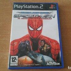 Videojuegos y Consolas: SPIDER MAN EL REINO DE LAS SOMBRAS PS2 PAL ESPAÑA COMPLETO. Lote 225003565