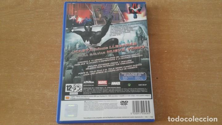Videojuegos y Consolas: SPIDER MAN EL REINO DE LAS SOMBRAS PS2 PAL ESPAÑA COMPLETO - Foto 2 - 225003565