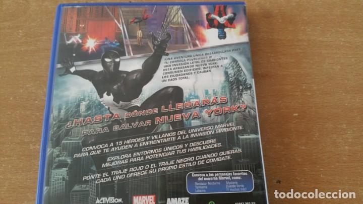 Videojuegos y Consolas: SPIDER MAN EL REINO DE LAS SOMBRAS PS2 PAL ESPAÑA COMPLETO - Foto 3 - 225003565