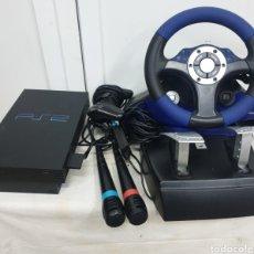 Videojuegos y Consolas: PLAYSTATION 2 Y ACCESORIOS. Lote 225291015