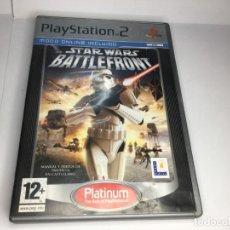 Videojuegos y Consolas: JUEGO PS2 STAR WARS BATTLEFRONT. Lote 237032715