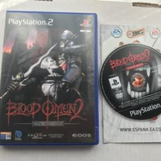 Videogiochi e Consoli: BLOOD OMEN 2 - THE LEGACY OF KAIN SERIES - PS2 PLAYSTATION TWO PLAY STATION 2 KREATEN. Lote 225884650