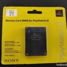 Videojuegos y Consolas: SONY MEMORY CARD 8 MB PLAYSTATION 2 PS2 ORIGINAL OFICIAL TARJETA DE MEMORIA. Lote 226761055