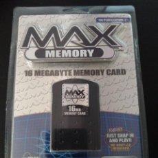 Videojuegos y Consolas: TARJETA DE MEMORIA COMPATIBLE PS2 MAX MEMORY 16 GB. Lote 226762025