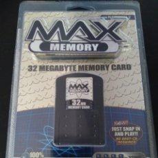 Videojuegos y Consolas: TARJETA DE MEMORIA COMPATIBLE PS2 MAX MEMORY 32 GB. Lote 226762480