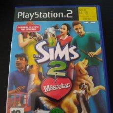 Videojuegos y Consolas: LOS SIMS 2 MASCOTAS PS2 + MANUAL. Lote 226766170