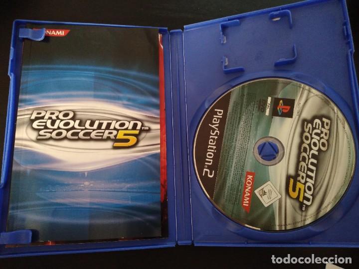 PRO EVOLUTION SOCCER 5 PES KONAMI PS2 + MANUAL (Juguetes - Videojuegos y Consolas - Sony - PS2)
