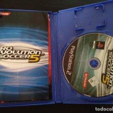 Videojuegos y Consolas: PRO EVOLUTION SOCCER 5 PES KONAMI PS2 + MANUAL. Lote 226768130