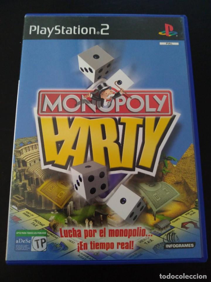 MONOPOLY PARTY PS2 (Juguetes - Videojuegos y Consolas - Sony - PS2)