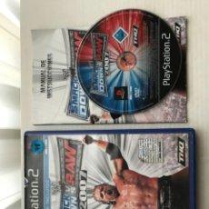 Videojuegos y Consolas: WWE SMACK DOWN VS RAW 2007 PS2 PLAYSTATION 2 PLAY STATION TWO KREATEN. Lote 227079030