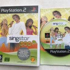 Videojuegos y Consolas: SINGSTAR POP SING STAR SINGS STARS PS2 PLAYSTATION 2 PLAY STATION TWO KREATEN. Lote 227915155