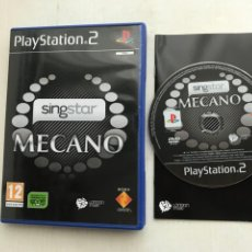 Videojuegos y Consolas: SINGSTAR MECANO SING STAR SINGS STARS PS2 PLAYSTATION 2 PLAY STATION TWO KREATEN. Lote 227915885