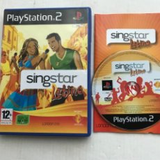 Videojuegos y Consolas: SINGSTAR LATINO SING STAR SINGS STARS PS2 PLAYSTATION 2 PLAY STATION TWO KREATEN. Lote 227916485